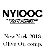 NYIOOC, US 2018 Olive Oil comp.